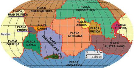 Resultado de imagem para litosfera continental e oceanica