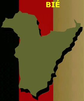 Mapa de Bié