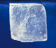 Cristal de Cloreto de Sódio.