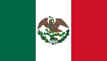 Resultado de imagem para bandeira do mexico