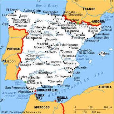 Geografia da Espanha