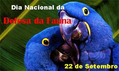Dia Nacional da Defesa da Fauna