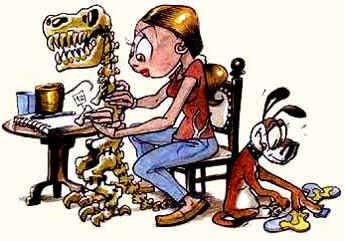 Dia do Paleontólogo