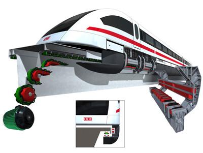 Trens Maglev Magnetismo O Que S O Trens Maglev