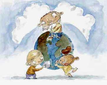 Carta da Terra Para Crianças