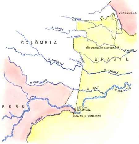 Fronteira Brasil-Colômbia