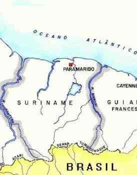 Fronteira Brasil-Suriname