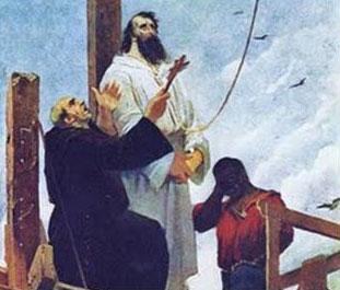 Várias imagens que representaram Tiradentes nitidamente o associaram à figura de Jesus Cristo.
