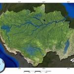Rio Amazonas e seus afluentes. Clique para ampliar