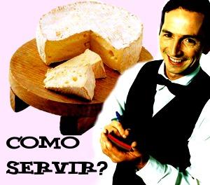 Como Servir o queijo