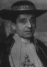 Giacomo della Chiesa, papa Ben[edi]to XV