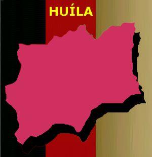 Mapa de Huíla