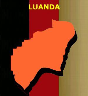 Mapa de Luanda