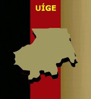 Mapa de Uíge