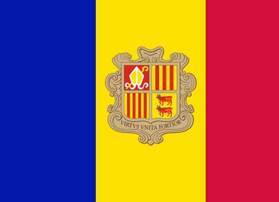 Bandeira Nacional de Andorra