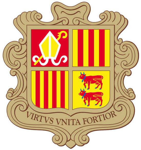 Brasão de Andorra