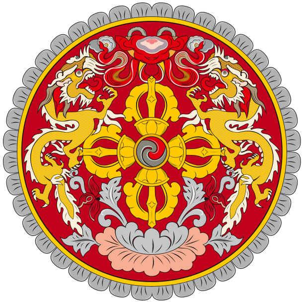 Emblema do Butão