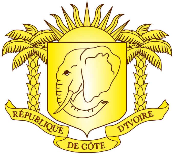 Brasão de armas da Costa do Marfim