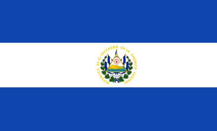 Bandeira de El Salvador