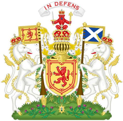Real Brasão de Armas da Escócia