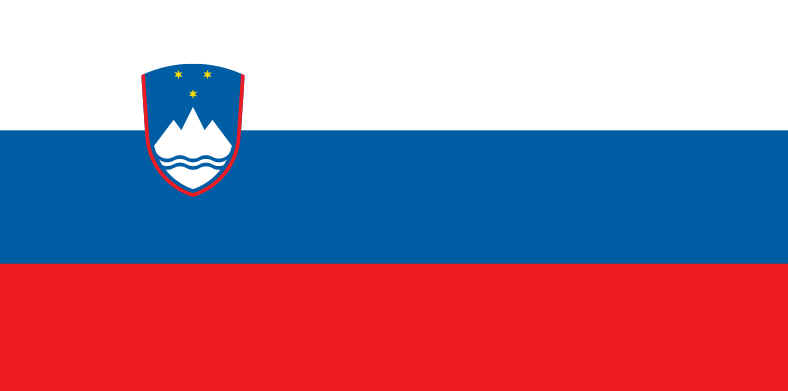 Bandeira da Eslovênia