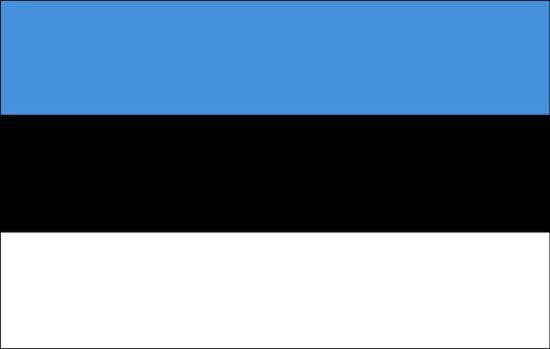 Bandeira da Estônia