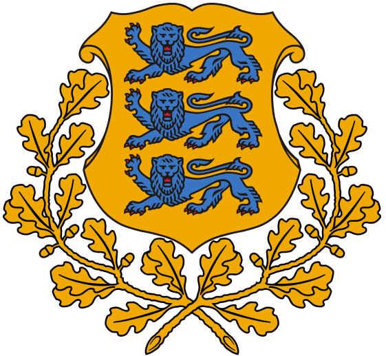 Brasão de Armas da Estônia