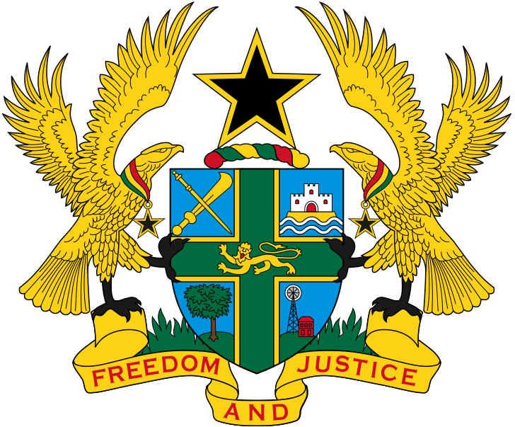 Brasão de armas de Gana