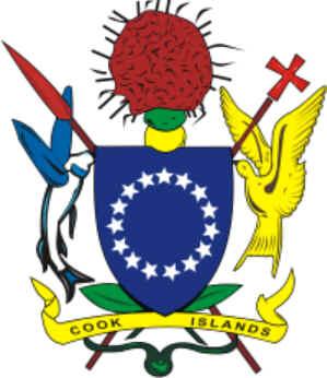 Brasão de armas das Ilhas Cook