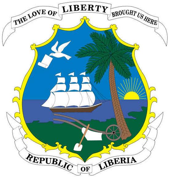 Brasão de Armas da Libéria