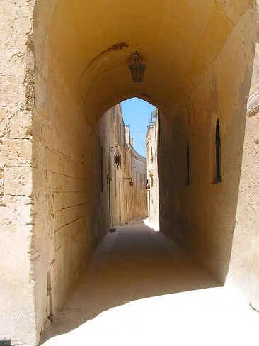 Ruas em Mdina