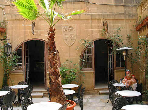Café em Mdina