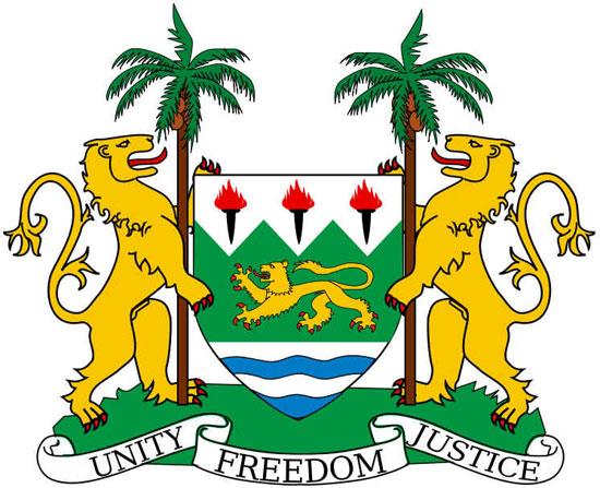 Bandeira de Serra Leoa