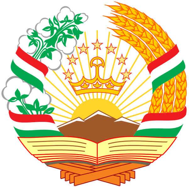 Brasão de armas do Tajiquistão