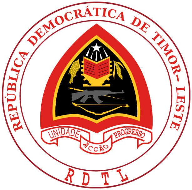 Brasão de armas do Timor Leste