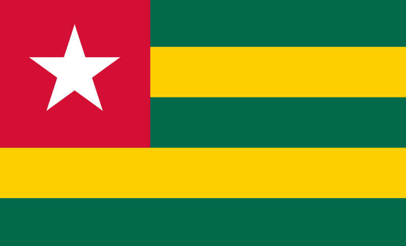 Bandeira do Togo