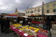 Feira semanal em Salamanca, Hobart, capital da Tasmânia