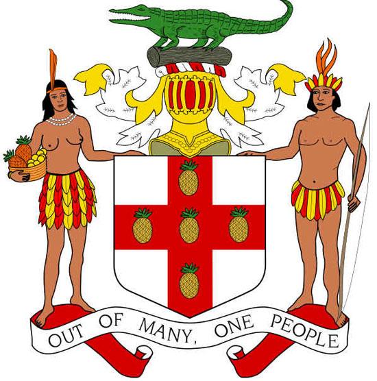 Brasão de armas da Jamaica