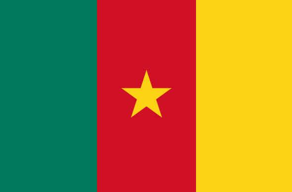 Bandeira de Camarões