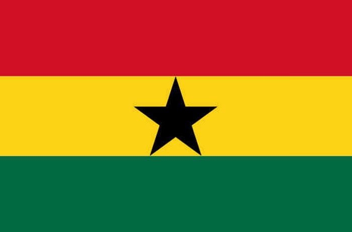 Bandeira da Gana