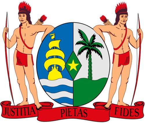 Brasão de armas do Suriname
