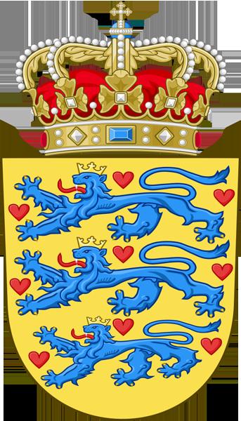 Brasão de Armas da Dinamarca