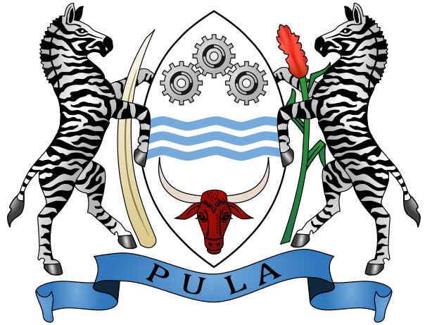 Brasão de armas do Botswana