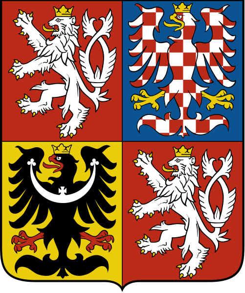 Brasão de armas da República Checa
