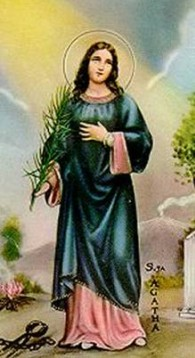 Dia de Santa Ágata