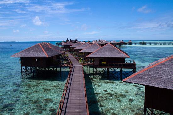 Ilhas Mabul e Sipadan