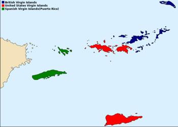 Três Grupos das Ilhas Virgens