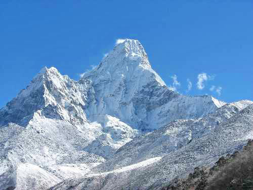 Montanha, Monte Everest