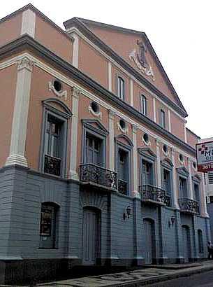 Fachada do Teatro Arthur Azevedo