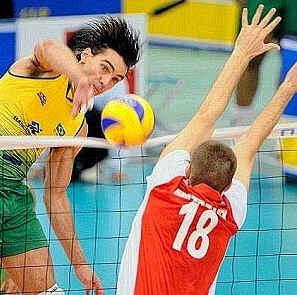 Ataque ou Cortada do Voleibol
